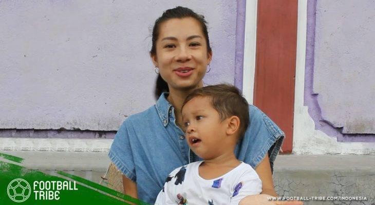 Sepak Bola yang Berdetak dalam Denyut Nadi Kehidupan Jennifer Bachdim