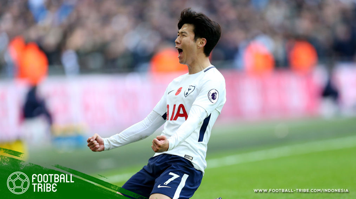 Son sebagai pemain Asia dengan gol terbanyak