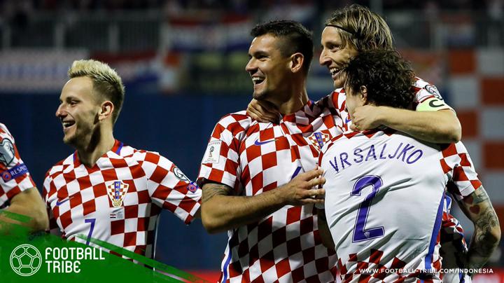 jalan Kroasia menuju Rusia 2018