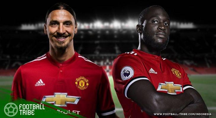 Friksi Penyerang Manchester United di Masa Lalu Bisa Jadi Pembelajaran untuk Jose Mourinho Terkait Zlatan-Lukaku