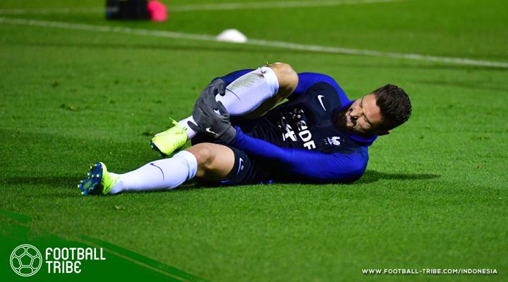 Cedera Kala Bela Prancis, Arsenal Mungkin tanpa Olivier Giroud di Derbi London Utara