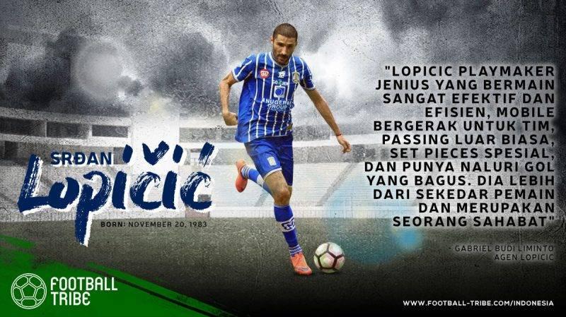 karier Lopičić di Liga Indonesia