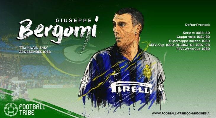 Acungan Jempol bagi Karier Emas Giuseppe Bergomi