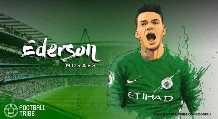 3 Gol dari Lyon, Kado Buruk Ulang Tahun Ederson Moraes