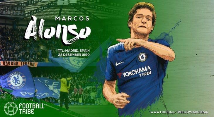Marcos Alonso dan Reputasi yang Semakin Wangi di Chelsea