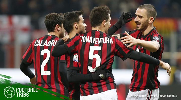 Plus-Minus Kembalinya Milan Menggunakan Pola 4-3-3