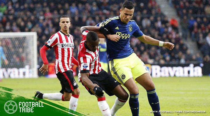 De Topper: Partai Adu Gengsi Ajax Amsterdam dan PSV Eindhoven