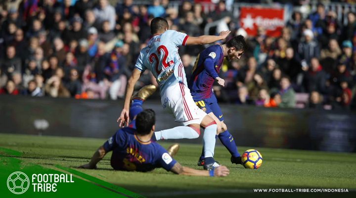 Ditahan Imbang Celta Vigo, Barcelona Kehilangan Poin untuk Pertama Kali di Kandang Sendiri