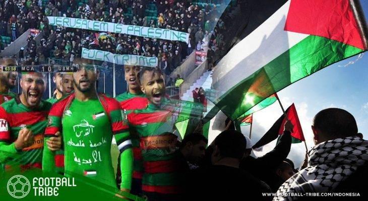 Beragam Dukungan dari Sepak Bola Dunia untuk Palestina