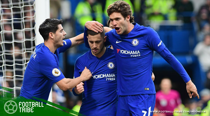 Eden Hazard Tampil Gemilang, Chelsea Berhasil Balikkan Kedudukan Untuk Kalahkan Newcastle