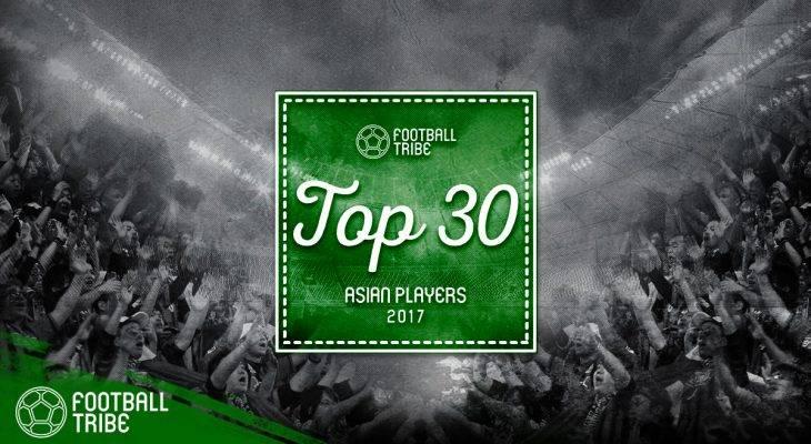 Football Tribe Awards: 30 Pemain Terbaik Asia di 2017 (Peringkat 10-1)