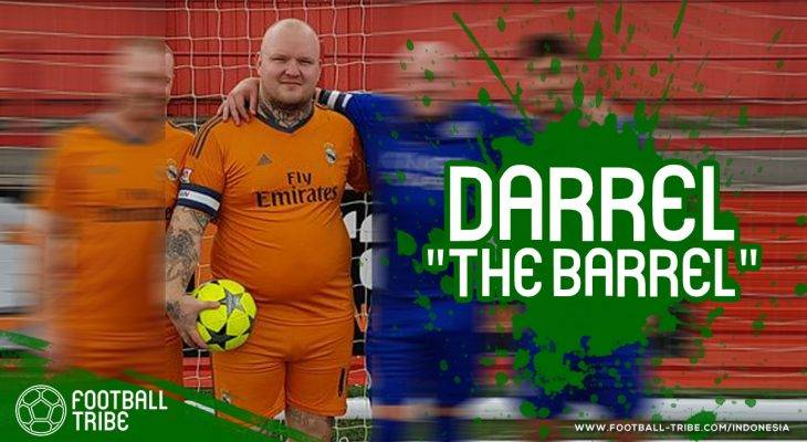 "Aksi Kocak Darrel ""The Barrel"" Hales, Kiper Tambun yang Viral di Media Sosial"