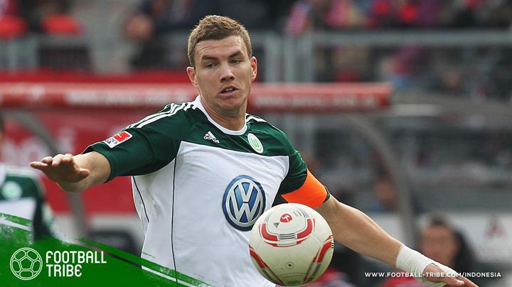 Džeko saat itu masih merumput di Wolfsburg