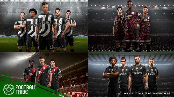 FIFA 18 Luncurkan Jersey Khusus untuk Empat Tim adidas
