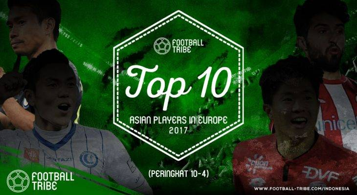Football Tribe Award: 10 Pemain Terbaik Asia yang Bermain di Eropa (Peringkat 10-4)