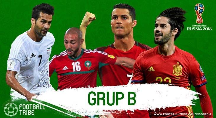 Grup B Piala Dunia 2018: Duel Iberia, Kekokohan Lini Belakang Maroko, dan Ancaman Kecil dari Iran