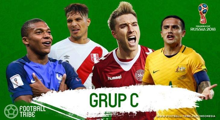 Grup C Piala Dunia 2018: Prancis sebagai Unggulan, Menanti Ledakan Denmark, dan Ancaman Peru serta Australia