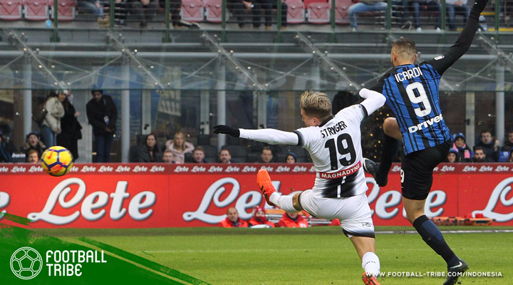 Udinese Putus Rekor Tak Terkalahkan Internazionale Milano Musim Ini