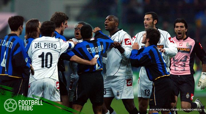 Enam Laga Kontroversial di Derby d'Italia