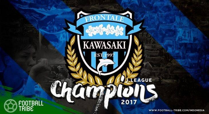 Dramatis, Kawasaki Frontale Jadi Kampiun Liga Jepang 2017