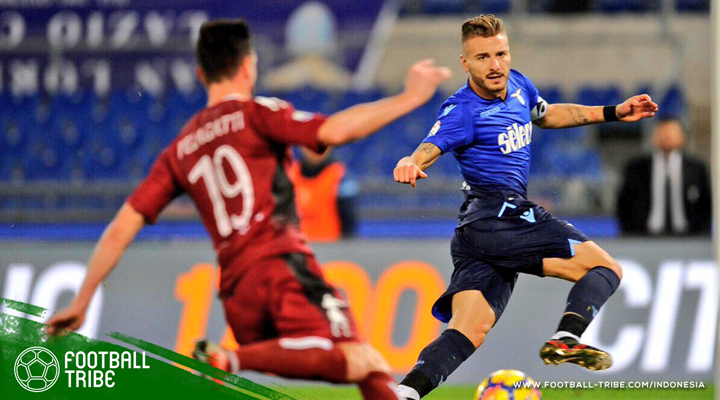 Doppietta Ciro Immobile Bantu Lazio Remukkan Cittadella
