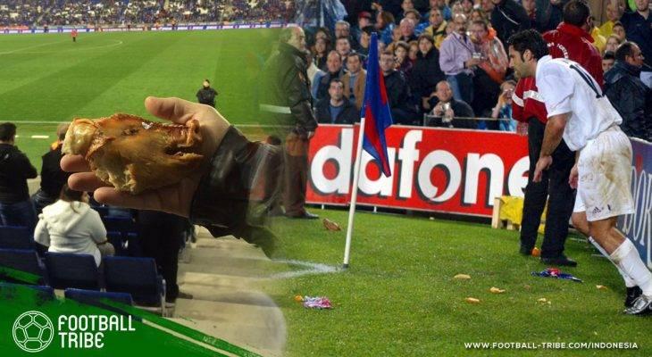 Lemparan Kepala Babi kepada Luis Figo: Ketika Kebencian Memuncak di Laga El Clasico