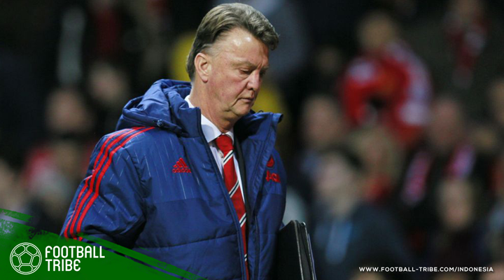 Dendam Louis van Gaal pada Manchester United