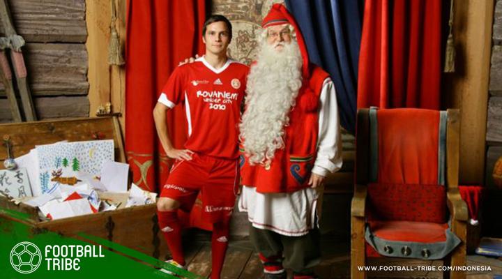 Kolaborasi Natal dan Sepak Bola yang Bernama FC Santa Claus