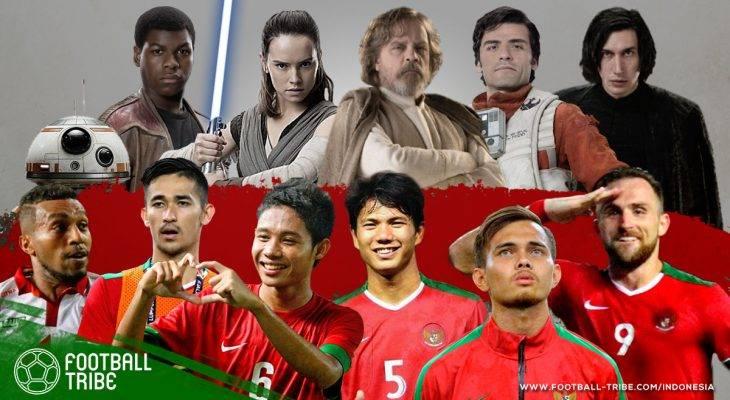 Seandainya Pemain Timnas Indonesia adalah Karakter Star Wars: The Last Jedi