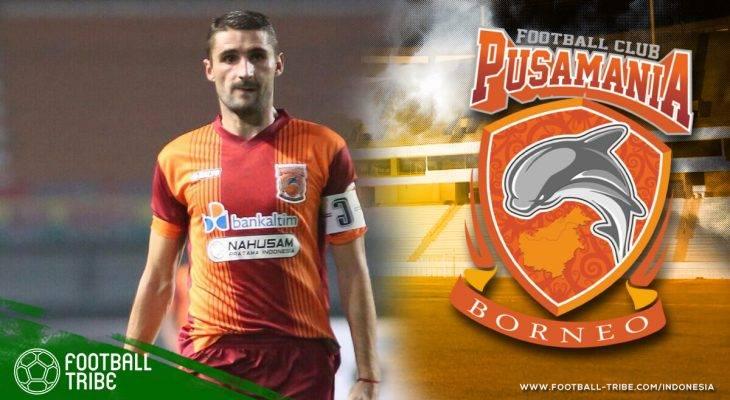 Srdan Lopicic Mudik ke Pusamania Borneo FC
