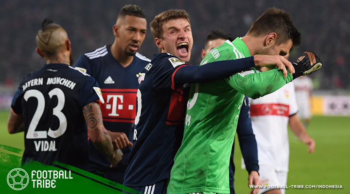 Tahan Penalti Lawan di Injury time, Bayern Muenchen Resmi Juara Paruh Musim