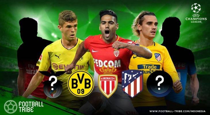 Klub-Klub yang Tampil Mengecewakan di Fase Grup Liga Champions Eropa 2017/2018