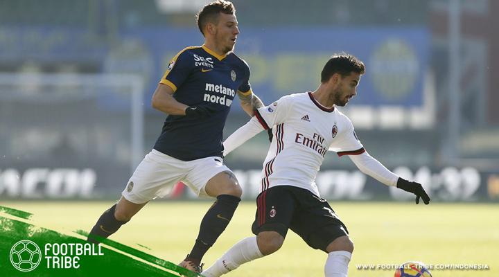 AC Milan Tunjukkan Solidaritas Dengan Rivalnya Setelah Kalah Dari Verona
