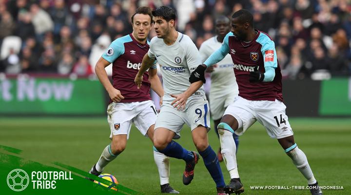 Tampil Efektif dan Disiplin, West Ham Bungkam Chelsea di Derby London