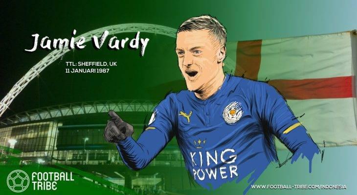 Jamie Vardy, Mantan Pemain Non-Liga yang Menciptakan Rekor di Liga Primer Inggris