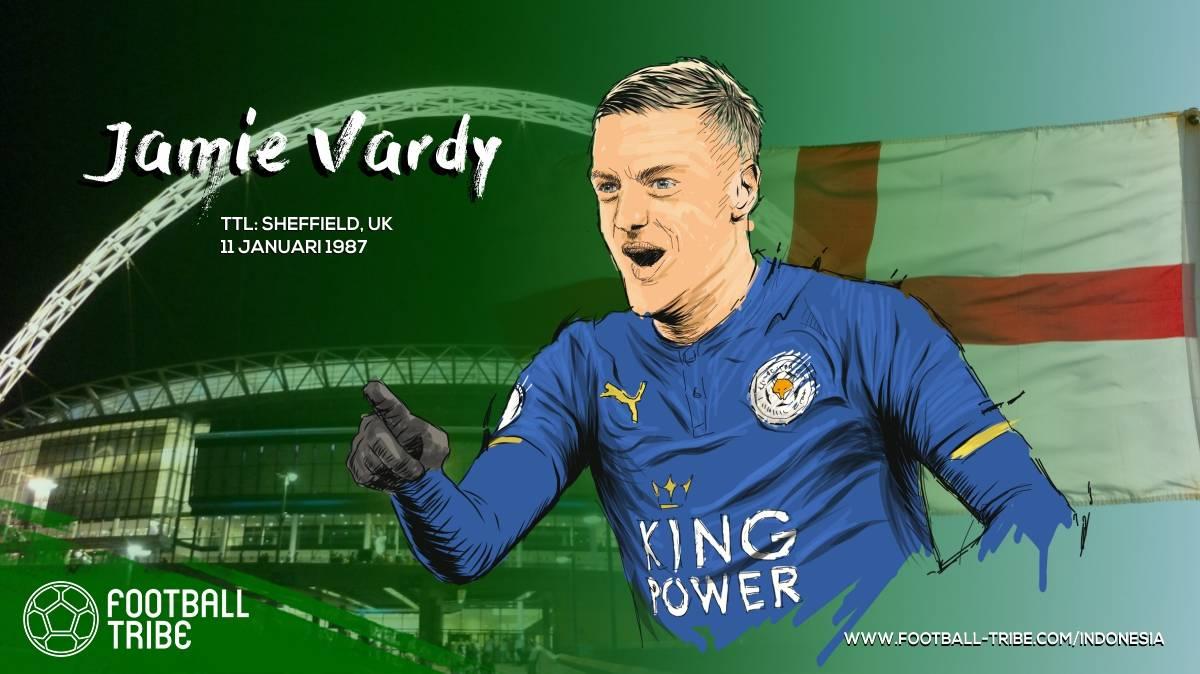 Vardy berhasil memecahkan rekor