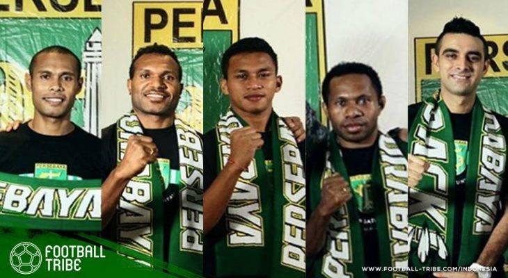 Aroma Papua yang Semakin Kental di Persebaya Surabaya
