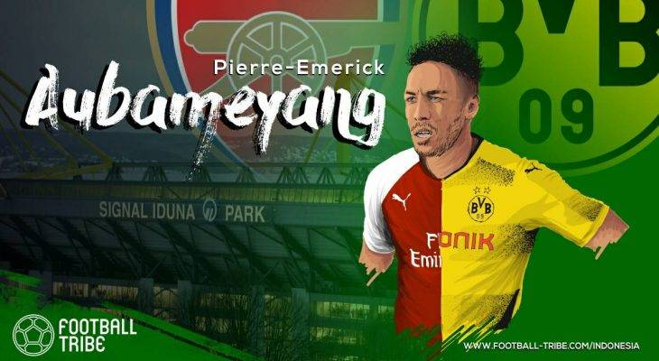 Ketika Pierre-Emerick Aubameyang Resmi Menjadi Milik Arsenal