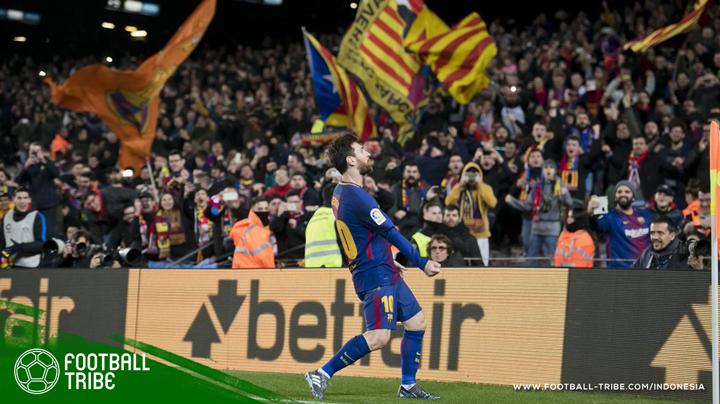 Barcelona sukses mengamankan tiga poin