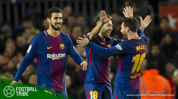 Dua Gol Messi Bawa Barcelona Bantai Celta Vigo dan Melaju ke Perempat Final Copa del Rey