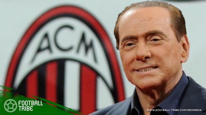 Berlusconi masih menunjukkan kecintaannya pada AC Milan