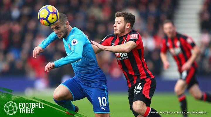 Bournemouth Taklukan Si Pincang Arsenal