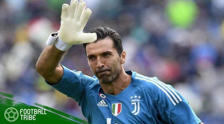 Momen-momen Ikonik Gianluigi Buffon bersama Juventus
