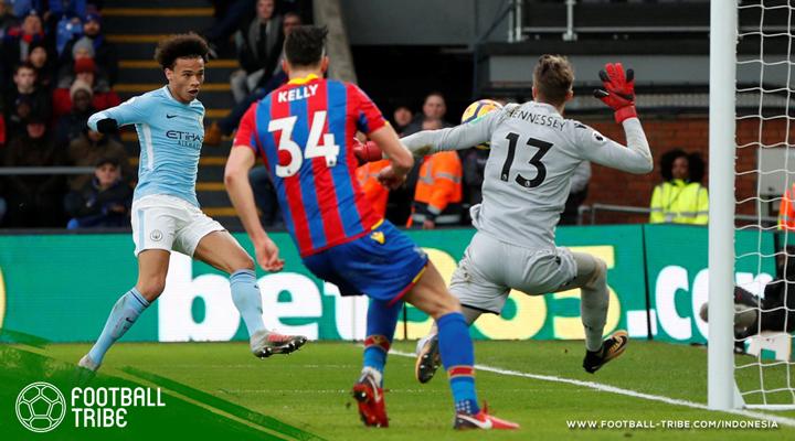 Crystal Palace Hentikan Laju Kemenangan Manchester City, Rusak Rekor Guardiola