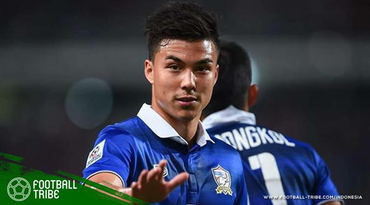 Charyl Chappuis, Si Tampan dari Thailand yang Pernah Menolak Juventus