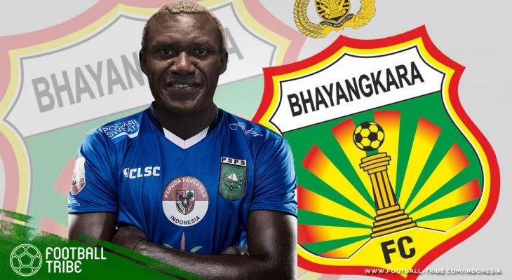 Herman Dzumafo Gabung Bhayangkara FC