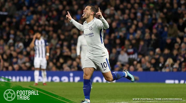 """Eden Hazard: """"Saya akan Tandatangani Kontrak Baru di Chelsea, Tapi Setelah Thibaut Courtouis"""""""
