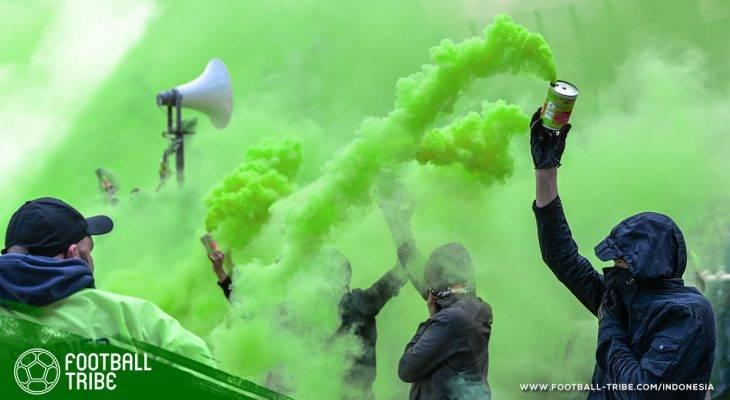 Identitas Suporter Hilang Ditelan Nyala Suar dan Bom Asap