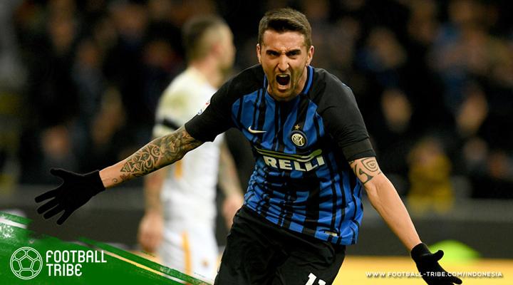 Gol Telat Matias Vecino Selamatkan Inter Dari Kekalahan