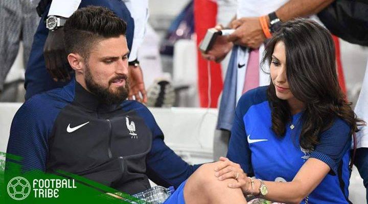 Istri Olivier Giroud Pegang Kunci di Saga Transfer Pierre-Emerick Aubameyang ke Arsenal